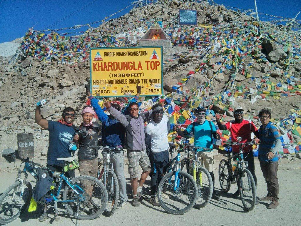 Leh Ladakh trip on bike