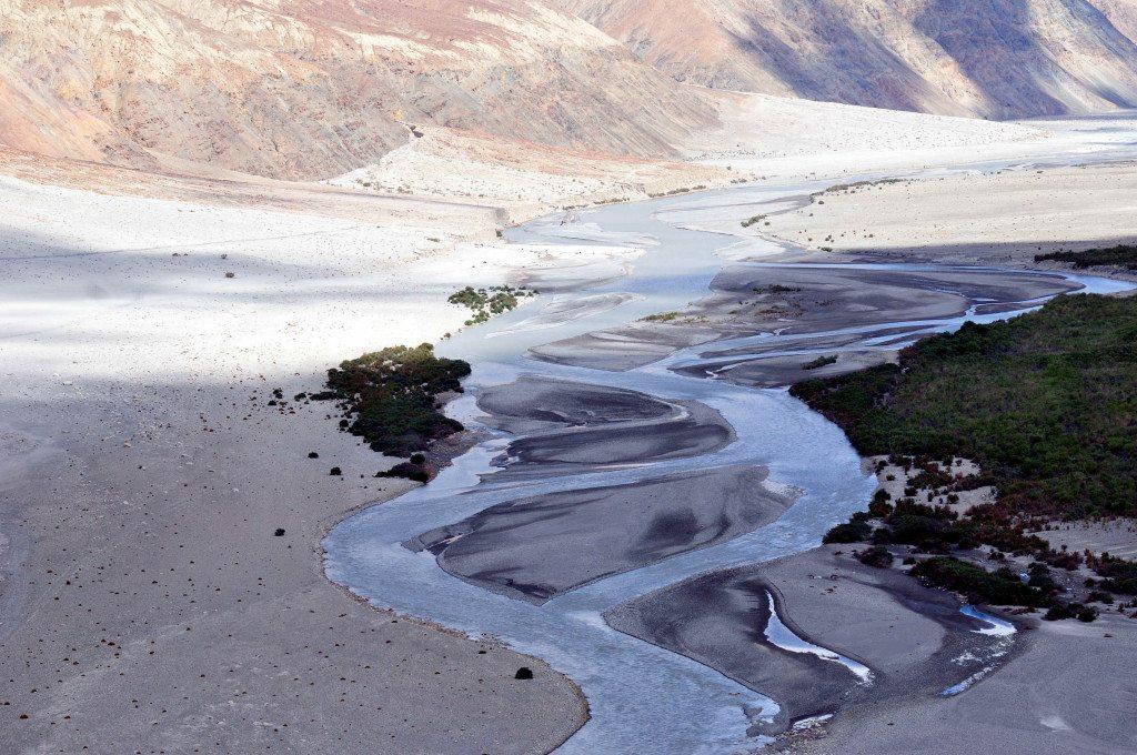 Leh Ladakh Road trip: Shyok and Nubra River confluence