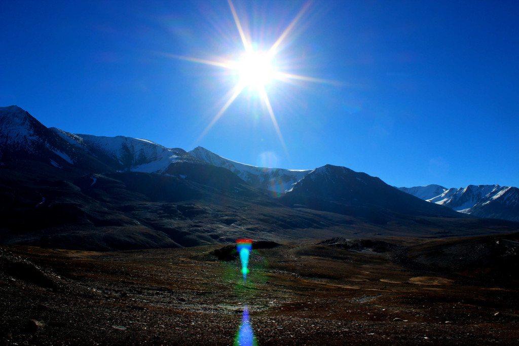 Sunrise at Baralacha la