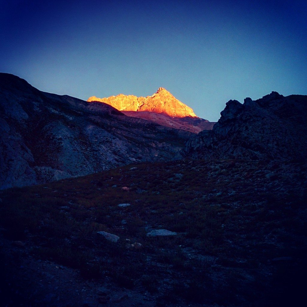 Early morning Sunrise in Lahaul Valley