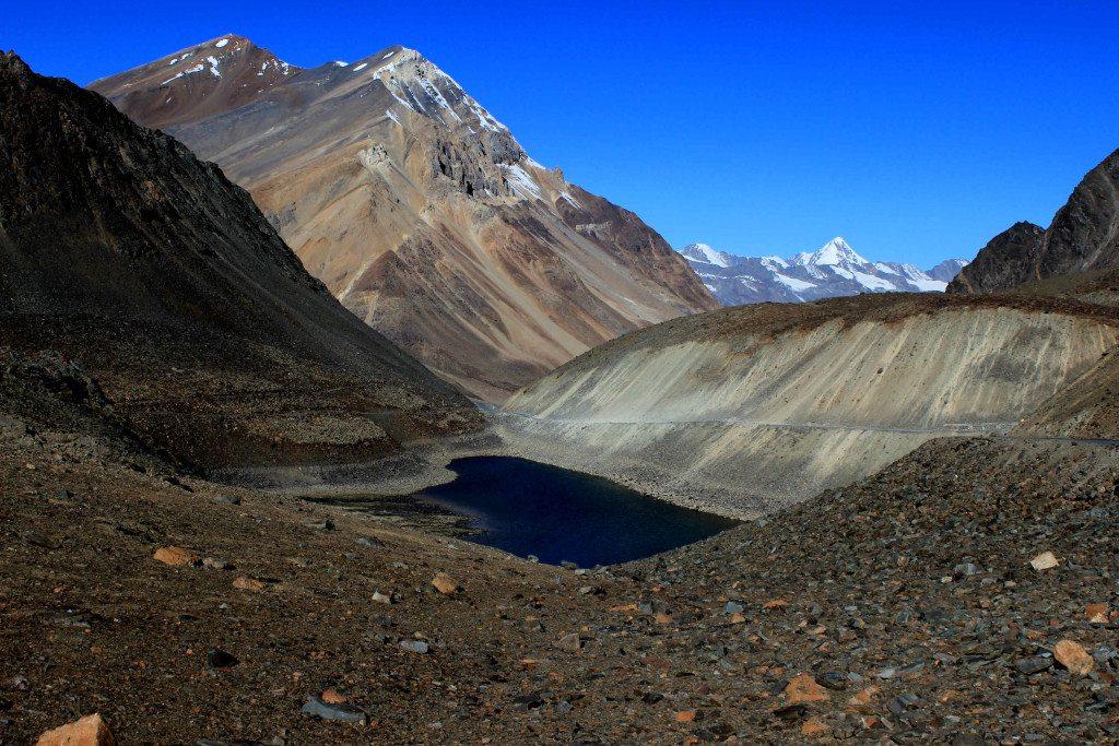 Suraj Tal in Lahaul Valley, Himachal Pradesh