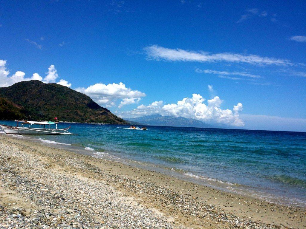 The white beach, Puerto Galera, Philippines