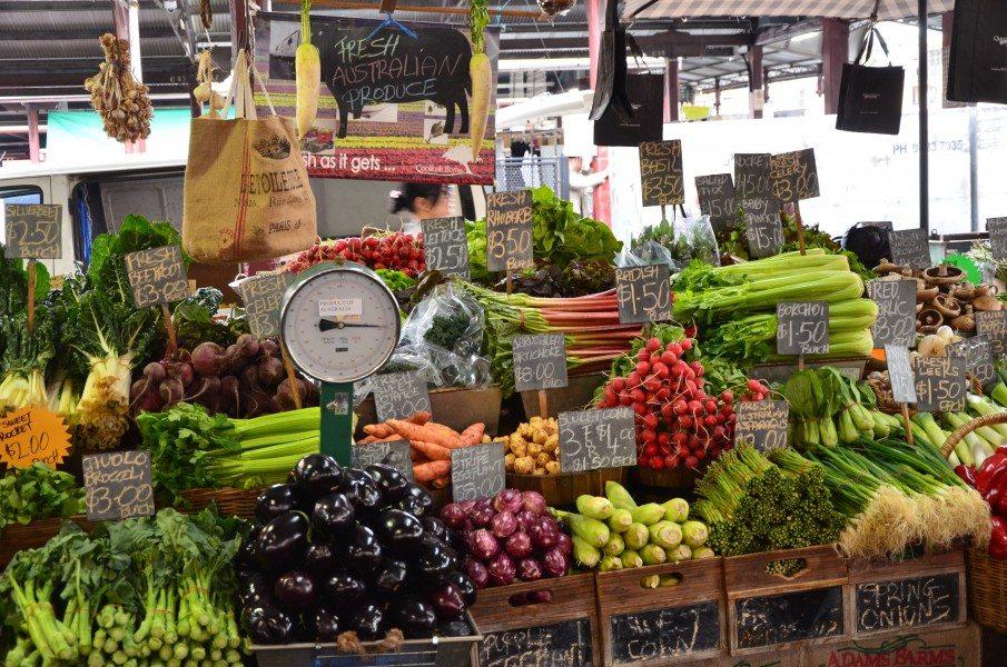 Fruit & Vegetables Market, Queen Victoria, Melbourne, Australia