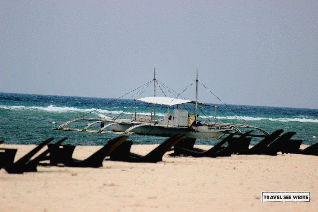 Dumaluan beach - Palms