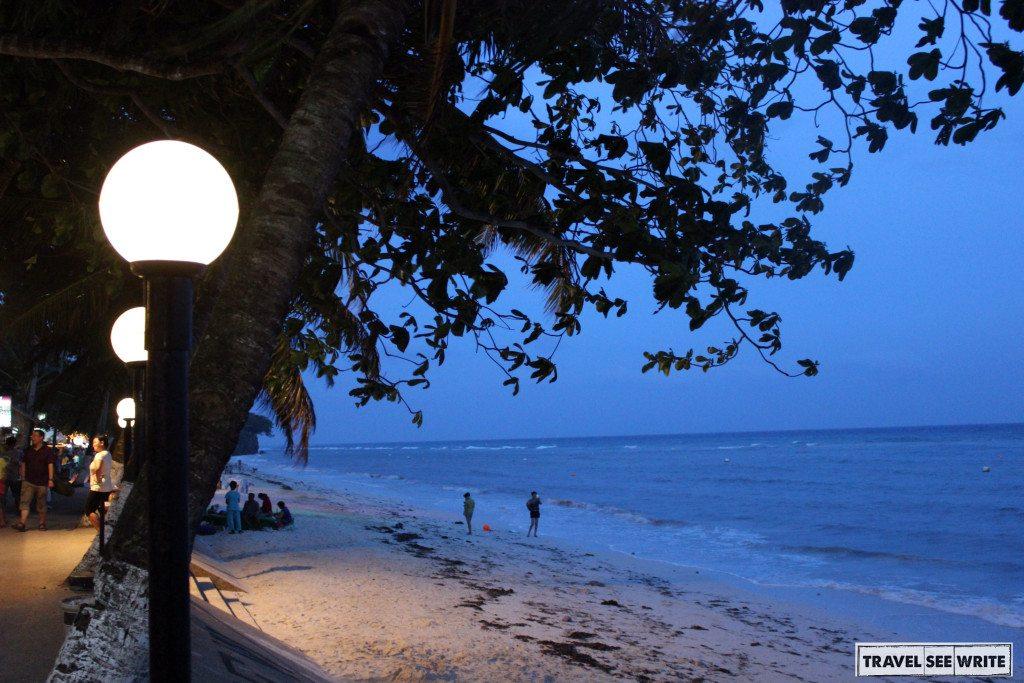 Evening at Alona Beach
