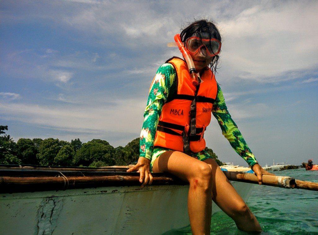 Swim with the TUrtles in Balicasag Marine Sanctuary