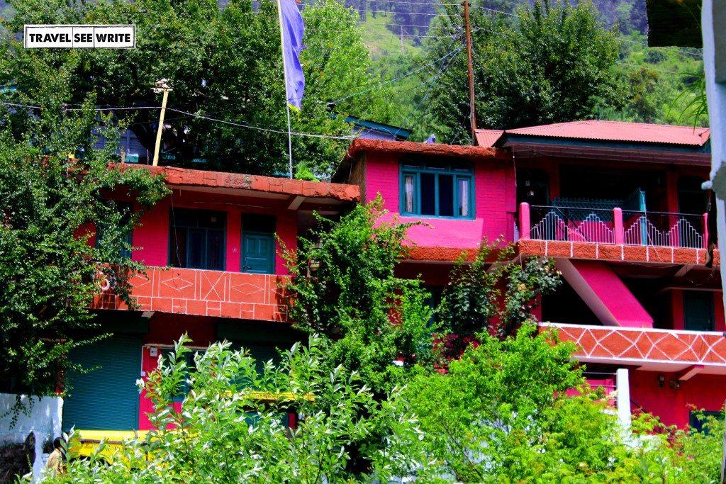 Houses at Sarahan
