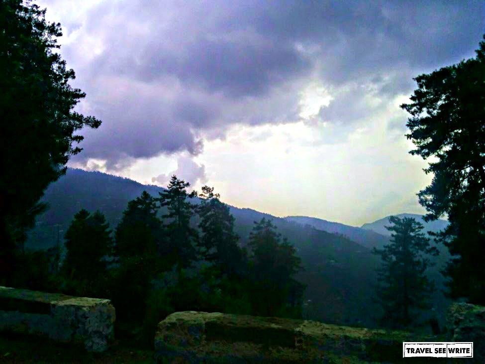 Monsoon Clouds on sarahan-shimla way