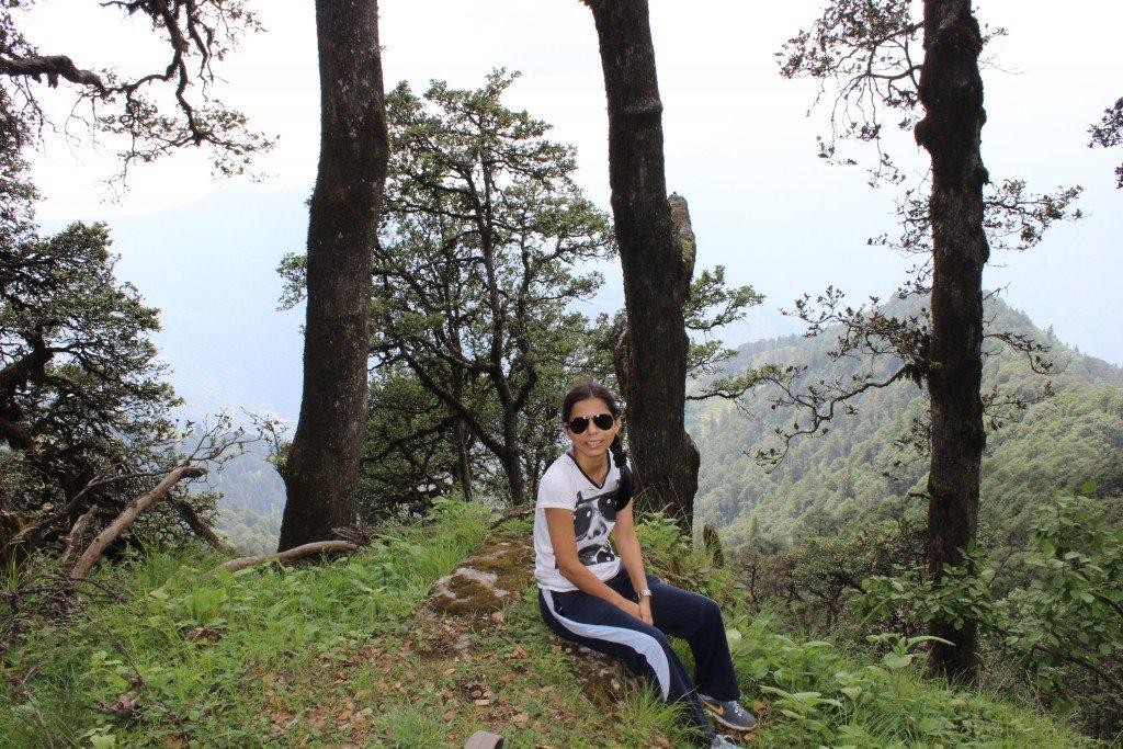 during trek
