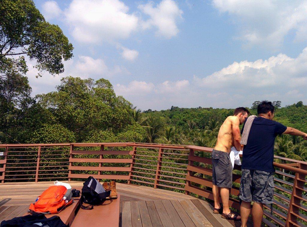Pulau Ubin Viewing Deck