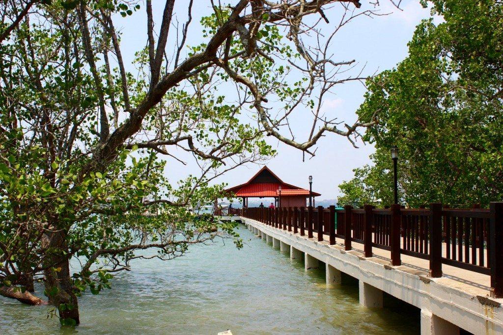 Pulau Ubin entrance - 1