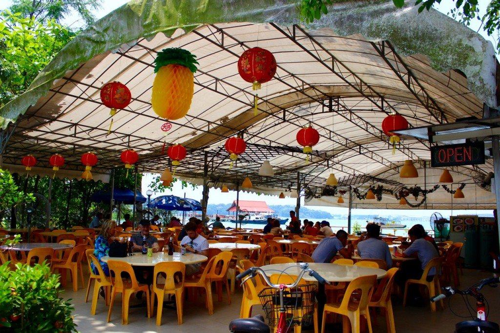 Pulau Ubin's lone restaurant - 1