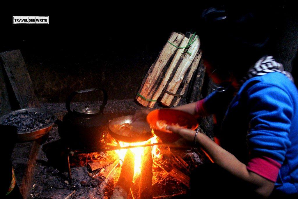 Homestay Cooking, Lao Chai, Sapa, Vietnam