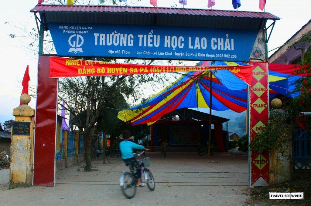 Lao Chai School, Sapa, Vietnam