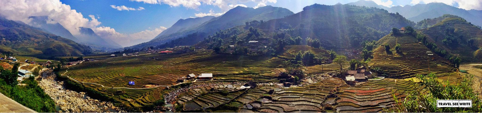 Sapa Valley Panaroma, Vietnam
