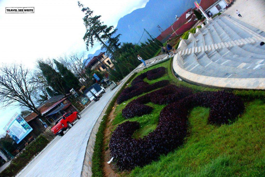 Sapa town centre