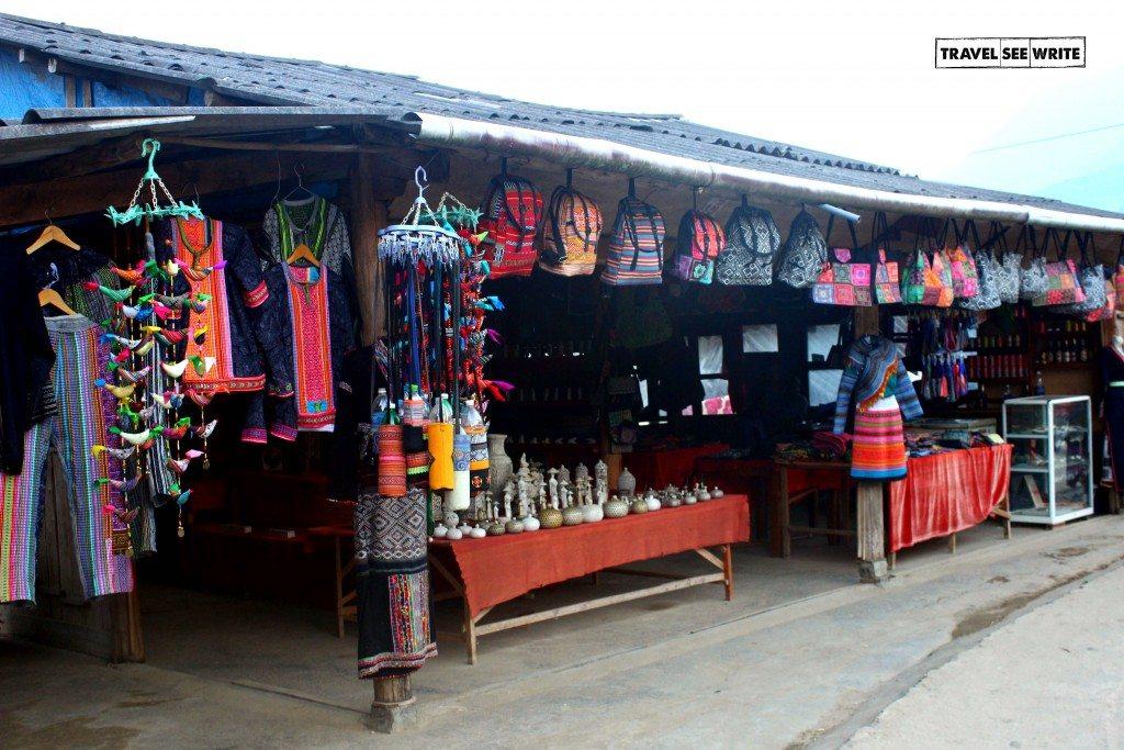 Souvenier Shop, Lao Chai, Sapa, Vietnam