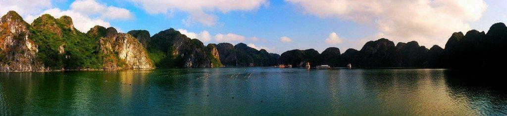 Visit Vietnam for Halong Bay, Vietnam (pls enlarge and see)