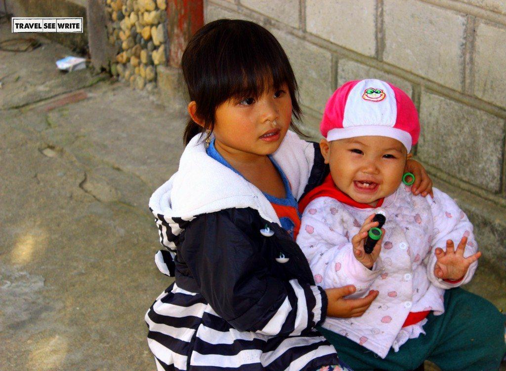 Kids, Sapa, Vietnam