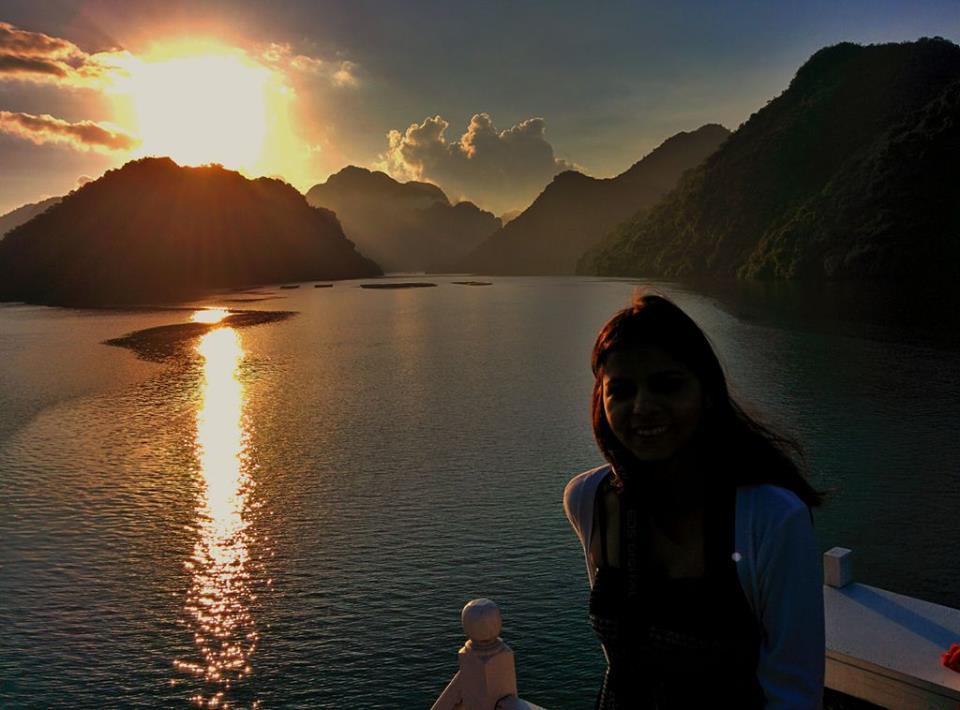Met at Halong Bay