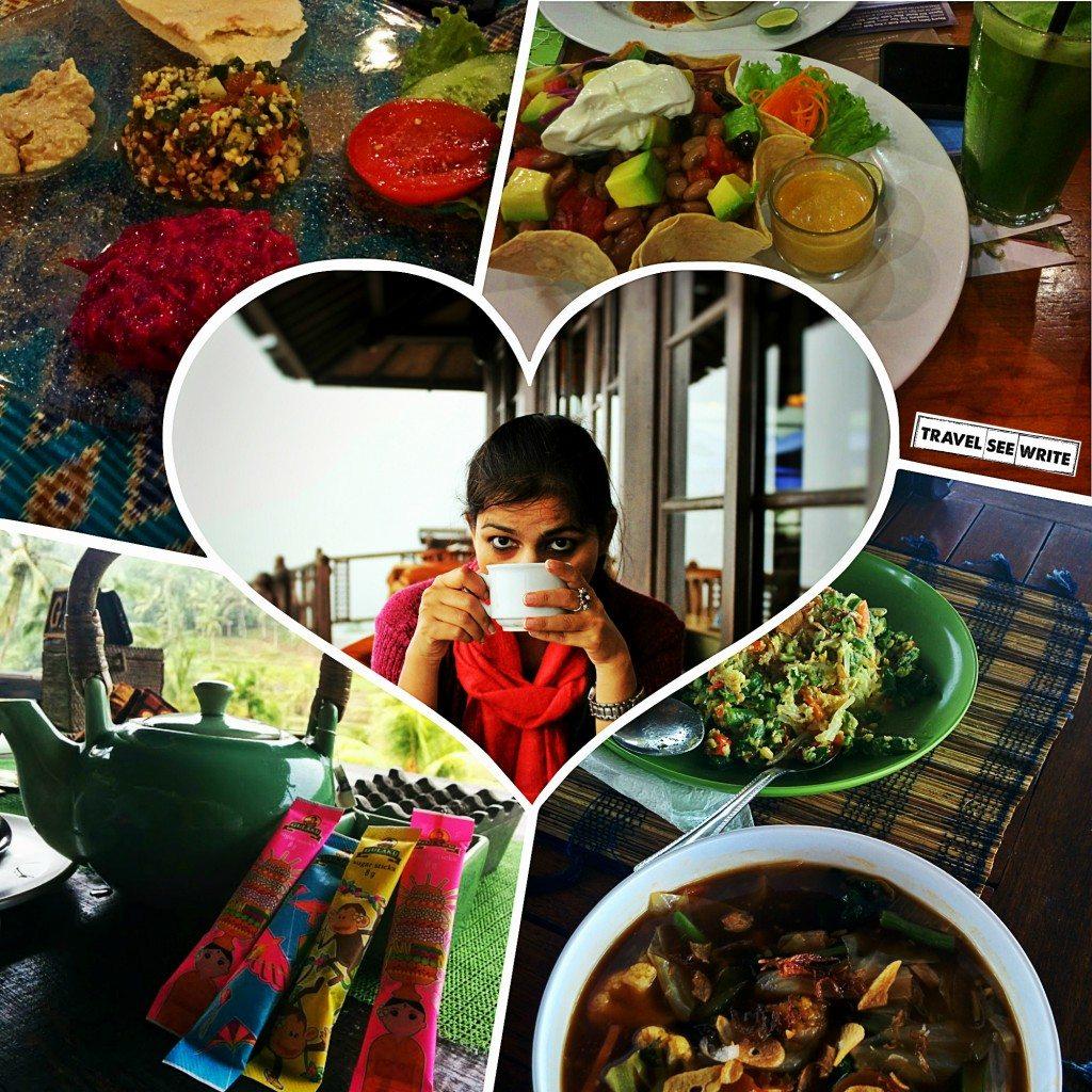 Exotic Vegetarian Food in Bali