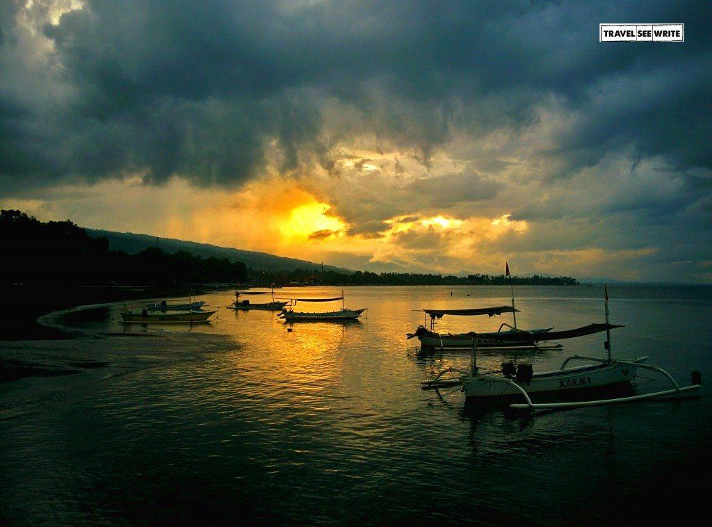 Lovina Beach, Just before the Storm, North Bali