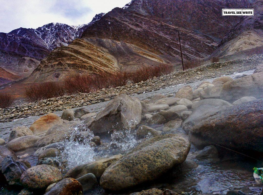 Chumathang Hot springs, Changthang, Ladakh