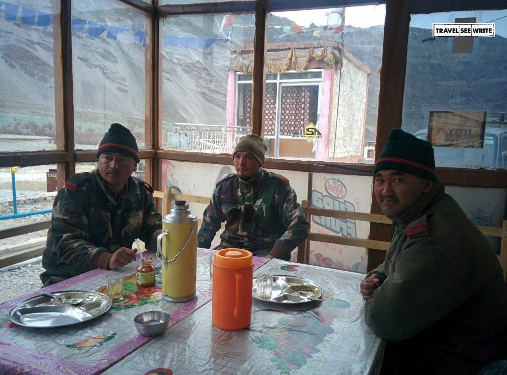 Chumathang Hotsprings Restaurant, Changthang, Ladakh