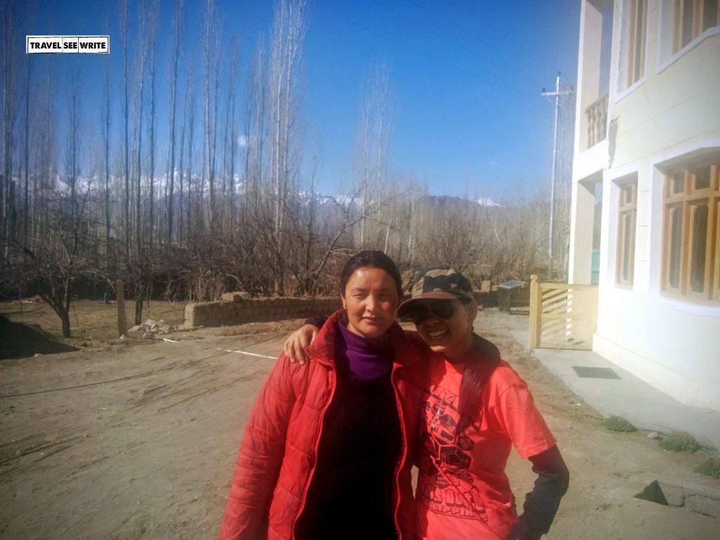 My mom cum sister - Didi of Zaltak Guesthouse, Leh