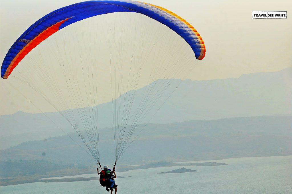 Paragliding at Kamshet