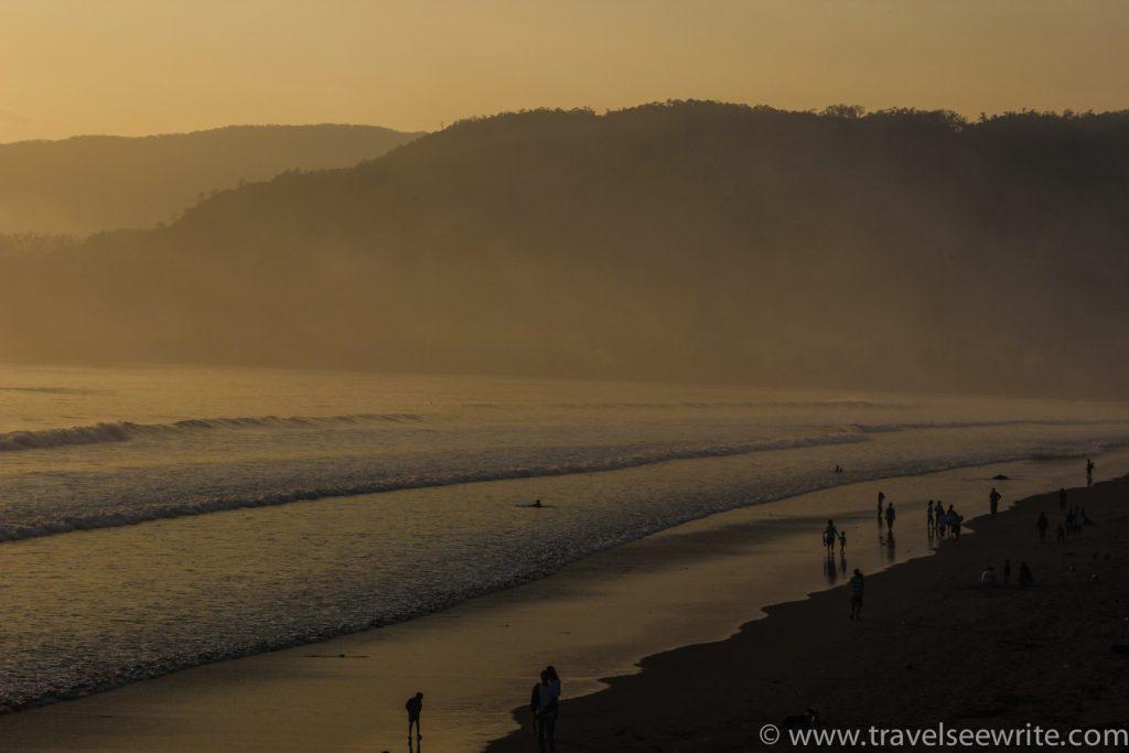Before sunrise, Sabang Beach, Baler