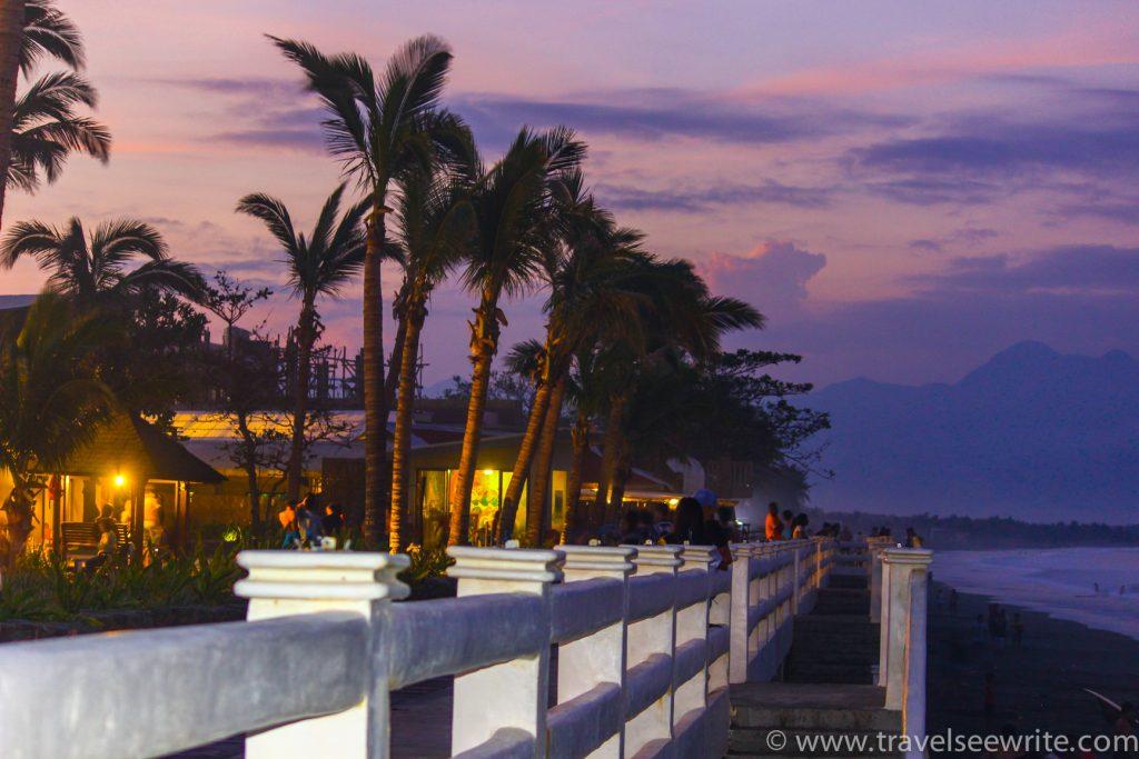 Sabang Beach Bay area