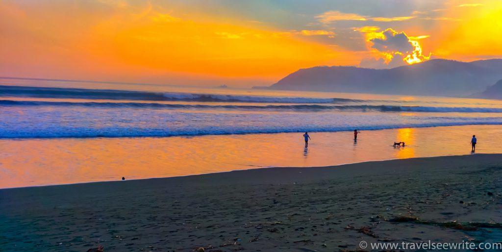 Sabang Beach sunset , Baler