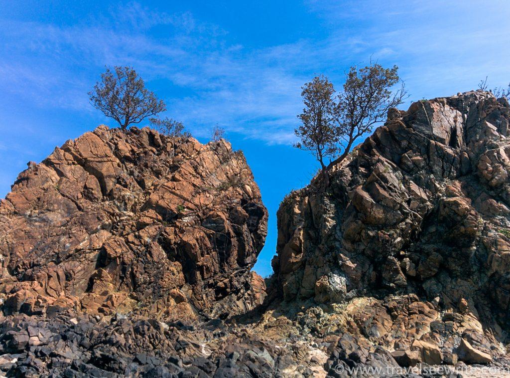 rock formations, baler