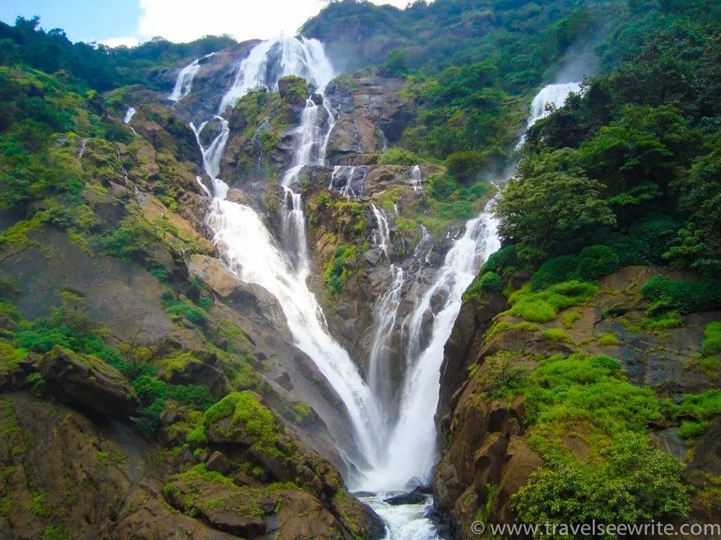 Offbeat Goa: The milky white water of Dudhsagar