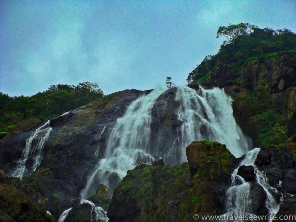 Dudhsagar waterfall, Goa (1 of 1)