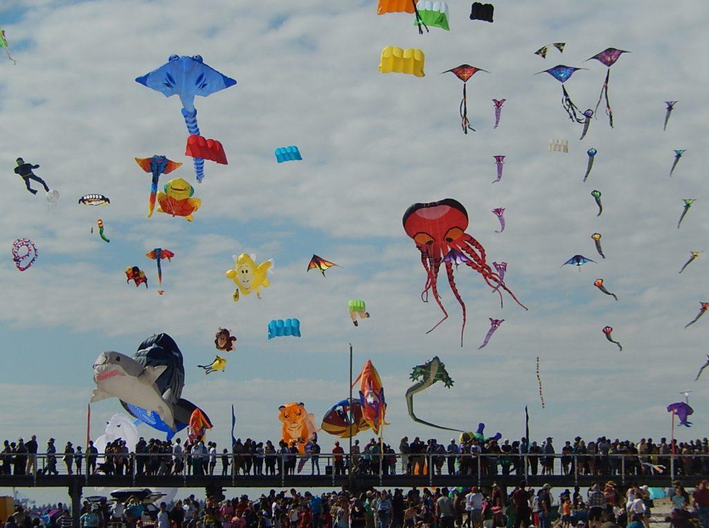 Semaphore Kite Festival - Image CC Michael Coghlan flicker. License to share and modify.