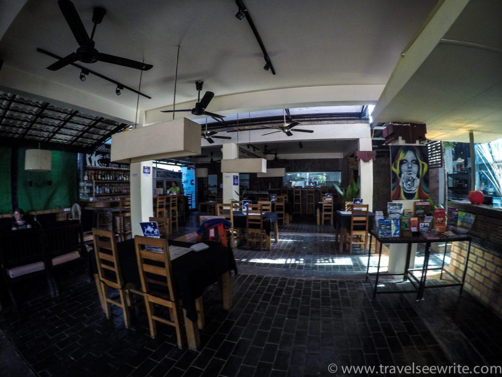 Restaurant & Bar of Naga Angkor Hotel, Siem Reap, Cambodia