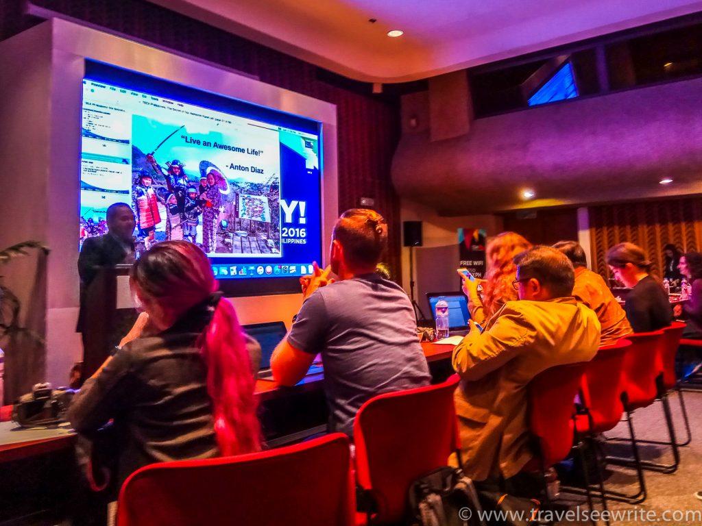 Anton Diaz at TBEX Speaker Seassion, Philippines