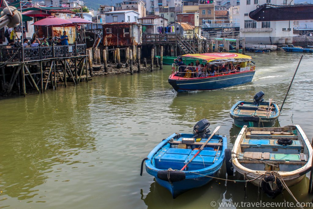 Tai O, the fishing village of Lantau Island, Hong Kong