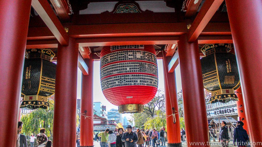 Giant Bells at Hōzōmon Gate, Asakusa, Tokyo