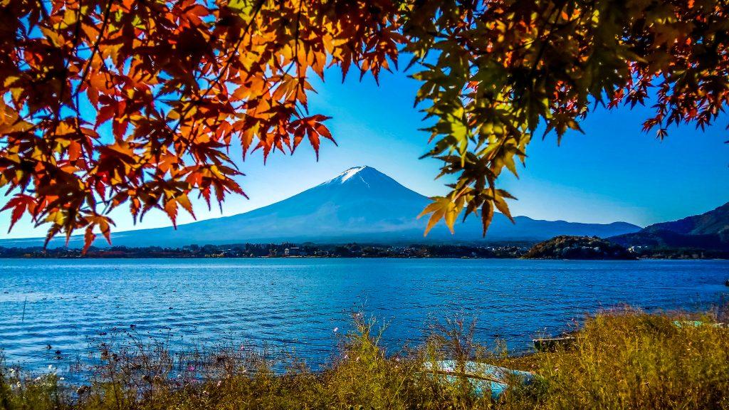 Mt Fuji, Kawaguchi Lake, japan