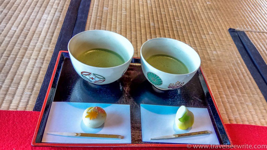 Traditional Japanese Tea House at Hama Rikyu Garden, Tokyo