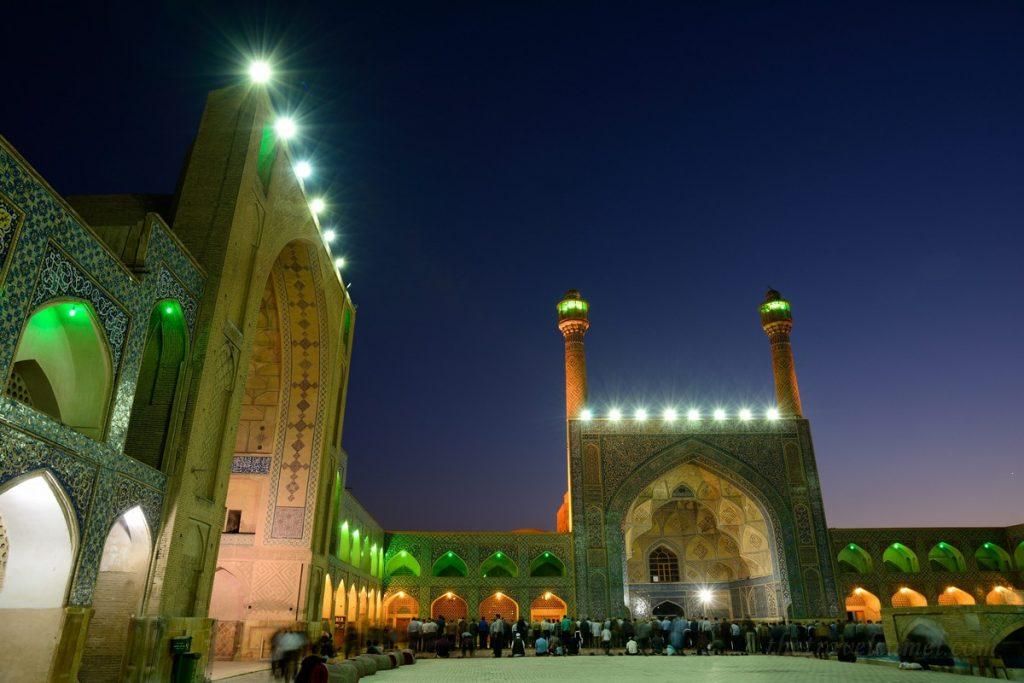 Jame Mosque in Esfahan, Iran
