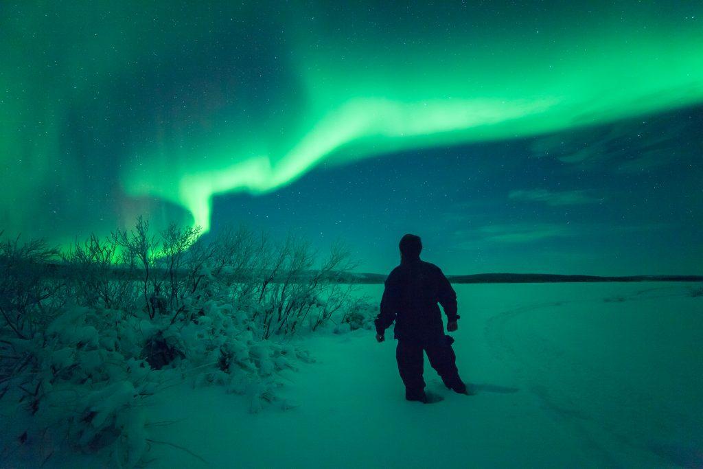 Finland in winter. Pic by Antti Pietikäinen