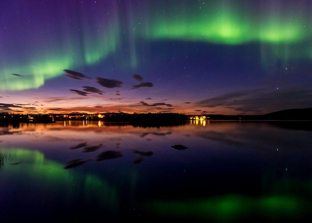 Northern Lights. Pic by Markus Kiili
