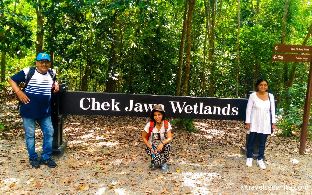 Us at Chek Jawa, Pulau Ubin, Singapore