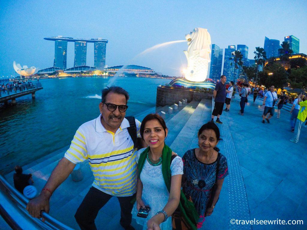 Visiting Singapore with your Senior citizen parents