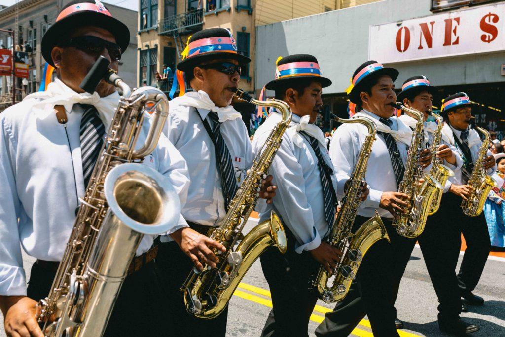 Annual Carnaval San Francisco. Pic cc: Adrian Sky (www.adriansky.com)