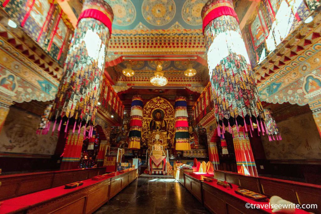 Inside the monastery, Gangtok, Sikkim